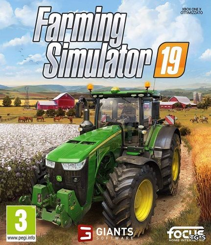 Farming Simulator 19 [v 1.2.0.1 + DLC] (2018) PC | Repack by xatab