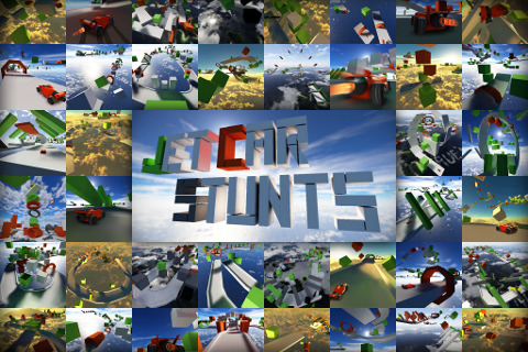 Jet Car Stunts [v1.4.4, iOS 3.0, ENG]