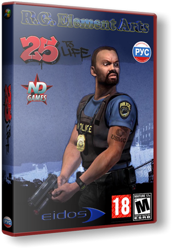 25 to Life (2006/PC/RePack/Rus) от R.G. Element Arts