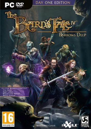 The Bard`s Tale IV: Barrows Deep [Update 3] (2018) PC | RePack by R.G. Catalyst