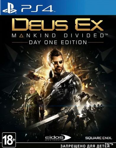 Deus Ex Mankind Divided [EUR/RUS]