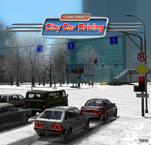 City Car Driving [v 1.5.7] (2016) PC | RePack by xatab