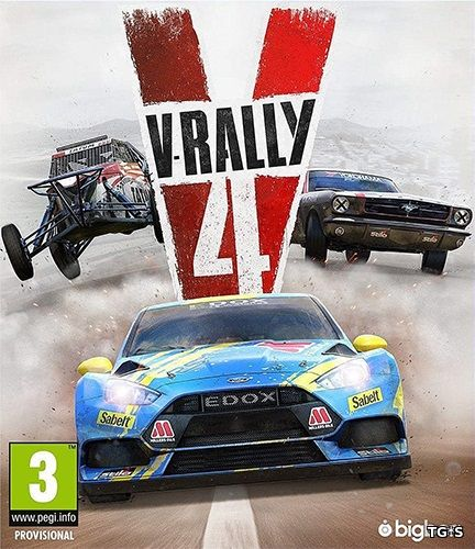 V-Rally 4: Ultimate Edition [v 1.04 + DLCs] (2018) PC | RePack by R.G. Catalyst