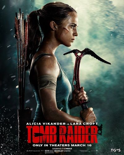 Tomb Raider: Лара Крофт / Tomb Raider (2018) BDRip 720p | Лицензия