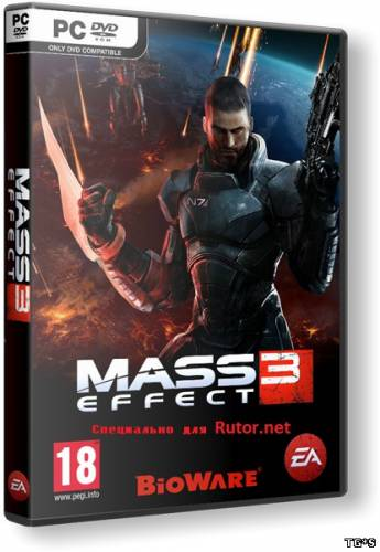 Mass Effect 3 (Update 1 + 3 DLC] (2012) (RUS/ENG) RePack by R.G.Rutor.net