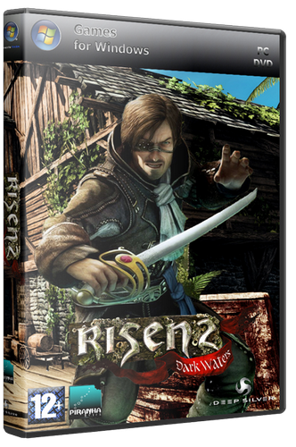 Risen 2. Тёмные воды / Risen 2. Dark Waters + 3 DLC (Акелла) (RUS) [Repack]