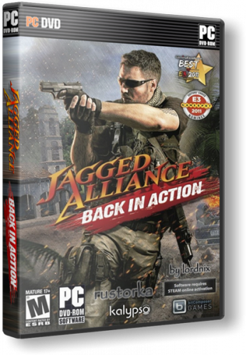 Jagged Alliance: Back in Action [v1.13a + 5 DLC] (2012) PC | RePack от R.G. Catalyst
