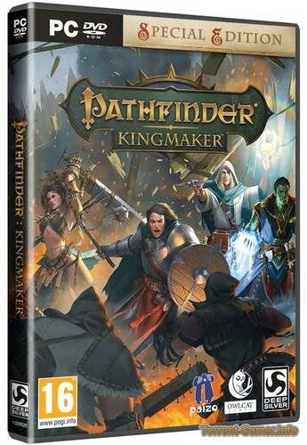 Pathfinder: Kingmaker - Imperial Edition [v 1.1.6d + DLCs] (2018) PC | Лицензия